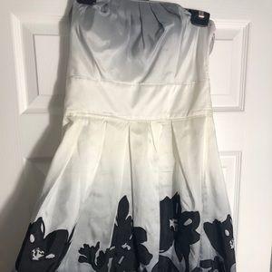 Silk ombré White House Black Market Dress